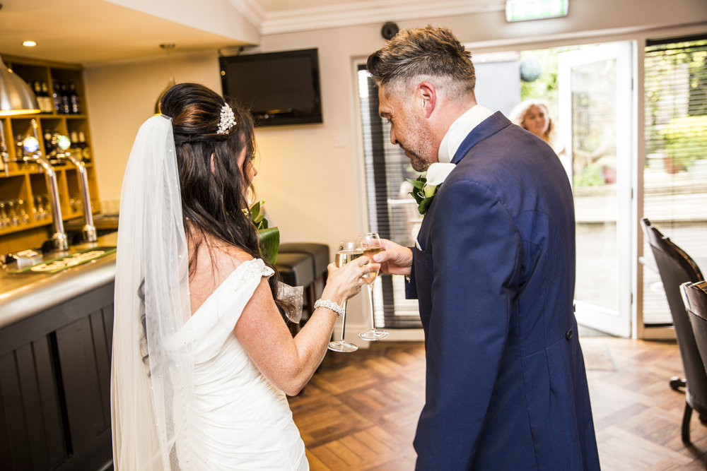 Donna and Dave's Sparth House Hotel Wedding Photography